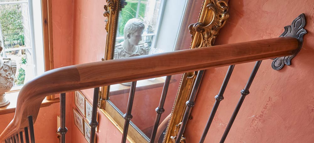 Wooden Staircase Banister