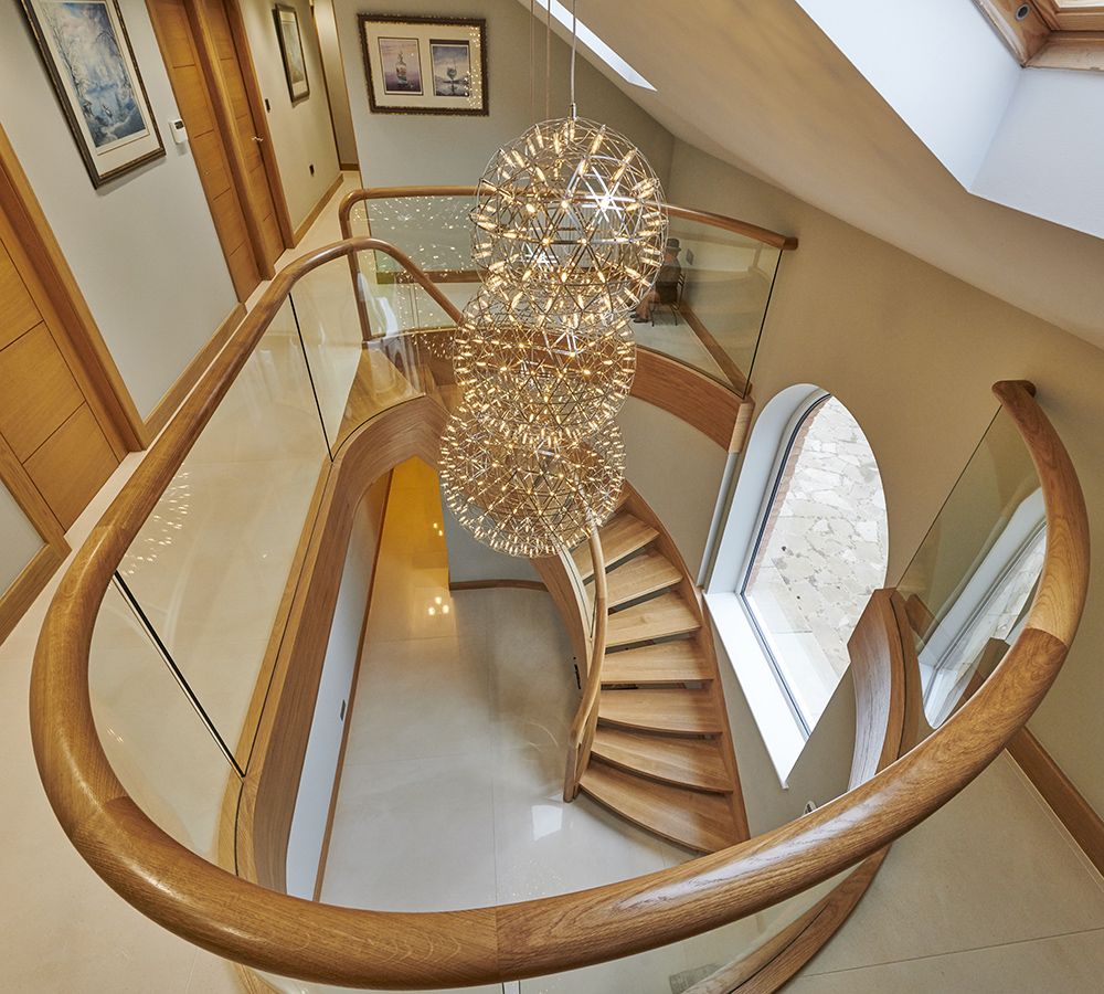 Traditional Metal Staircase