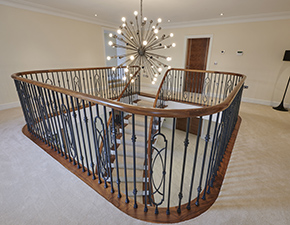 Curved Oak Staircase