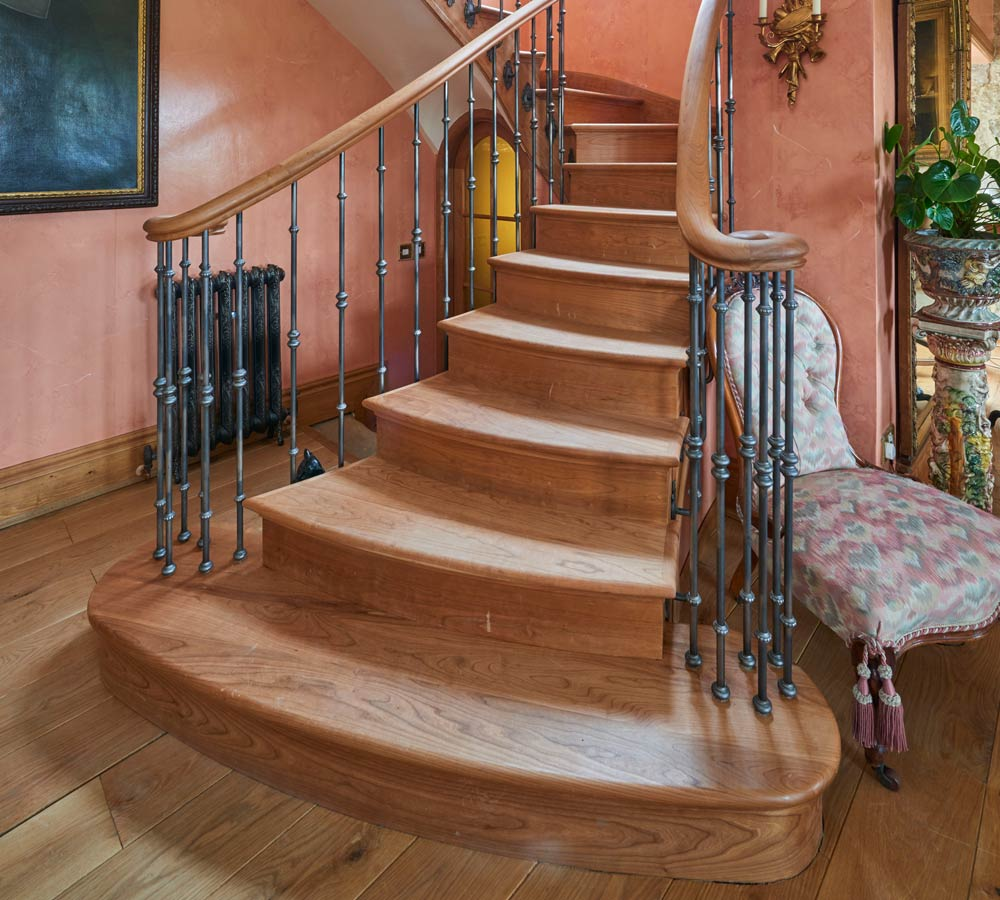 Traditional Wooden stairs