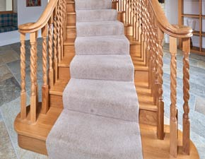 Traditional Wood Stairs